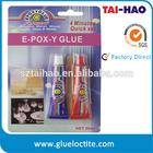 Heat resistance 2 part clear epoxy glue (A+B) 30ML