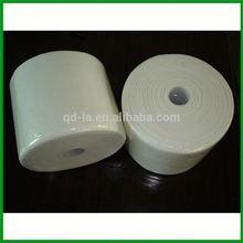 Timber Slurry Fiber Spunlace Nonwoven Fabric Flush Easily