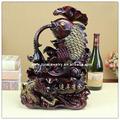 Fengshui balık heykeli, luckly balık, reçine balık heykeli,