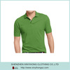 Dry fit pique fabric simple design tech mens polo t shirts