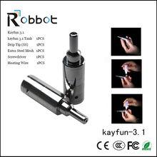 Black Kayfun Lite Plus V2 Wholesale 78mm Mini Kayfun Clone Kayfun 3.1