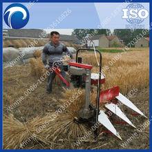 rice cutting and bundling harvest machine