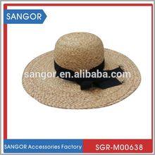 Best-selling designer green children paper straw hat