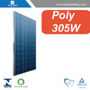 Good quality 305w high efficient pv solar panel connect to pure sine wave inverter for Jamaica market