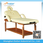Wooden Stationary Massage Table- Salon Bed Beauty Couch
