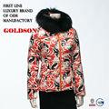 2015 de mujer con estilo de lujo edredones chaqueta oem de china