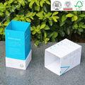 De promoción de cartón reciclable de cartón caja de botellas con tapas de diseño certificado por laiso, bv, sgs, ex precio de fábrica