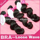 human Brazilian hair weave real mink Brazilian hair