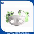 fluo verde pvc revestido webbing oem capacetesdesegurança com cinta de queixo