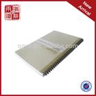 notebook spiral wire & notebook manufacturer& school notebook cover designs