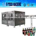De aluminio de las latas de bebidas carbonatadas bebidas suave que hace/de llenado de fabricación de equipos
