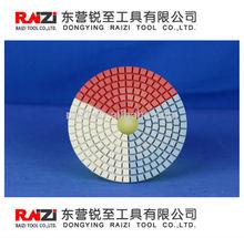 3-color wet polishing pad/Granite