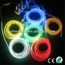 110V&220V CE&RoSH waterproof IP67 smd3528 led line rope full color led strip flex dream products