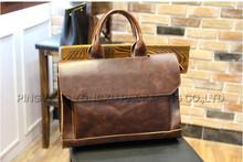 vintage pu mens leather messenger bag, pu leather laptop bag