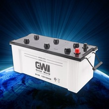 lead acid dry vehicle battery 12v 150ah with price made in China