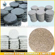 Garden Granite Foot Shape Stepping Stone