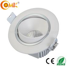 10W 750LM 6000k Round cob led ceiling light AC220-240V with CE