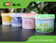 Customized Logo Round Car Airfreshener Gel Can Gel Air Freshener Odorizer Can