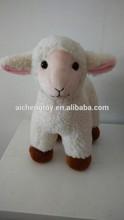 supply high quality soft plush toy lamb ,stuffed lamb toy