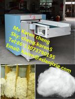 cotton waste making machine/fabric cotton waste recycling machine