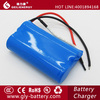 china manufacturer 18650 lithium ion battery 7.4v 1500mah for power tool