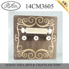 new product decorative coat hooks wall mounted golden decorative design