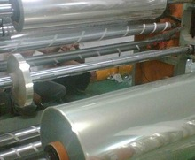 Rigid PET film in roll use for folding/thermoforming /printing