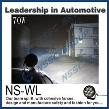 great white led driving lights 70W 12V car led work light motorcycle led driving lights made in China