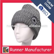 Winter wholesale cashmere knit beanies men