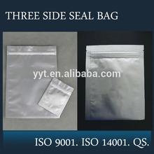 aluminum foil food grad ziplock paper bag for chicken