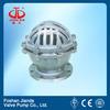 DN150 304ss flange end foot valve