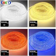 110V&220V CE&RoSH flexible 120v led light strip smd 3528 led strips led led rope led strip light for motorcycle