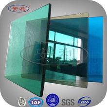 ANLI PLASTIC modern pc transparent glass solar panel