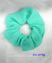 Chiffon elastic hair scrunchie wholesale
