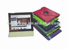 360 degree rotate for ipad case, View For ipad leather cases