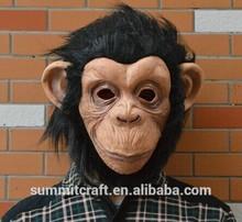 Hot sale animal party antique vivid monkey mask