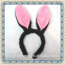 Shinny rabbit ear headband wholesale