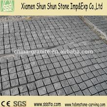 China G654 Grey Granite Paving 10x10x10 Cube Stone