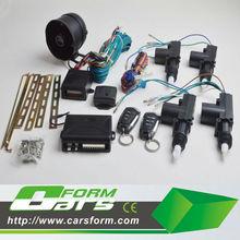 remote car central locking system one master three auto security remocon car locking