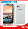 """NEW lenovo a889 6.0"""" quad core 1.3GHz 1GB RAM 8GB ROM dual camera android phone celular"""