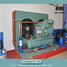 cold room 40HP high pressure air cooled bitzer compressor condensing unit 6G-40.2