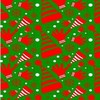 100% polyester Christmas pattern printed fabric for curtain