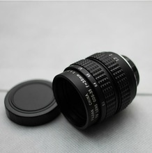 12 Blades 35mm F/1.7L C Mount CCTV Lens with Macro Rings