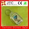 JTC 2014 top sale custom logo keychain with BV aduit factory8% off discount custom logo projector keychain no minimum