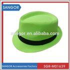 New arriving innovative gangster fedora panama hat
