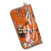 hot selling fashion PU zipper cheap ladies wallets