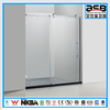 home used sliding 8mm tempered glass d shape shower screen