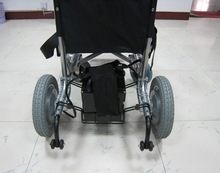8kph speed, 150kgs loading electric wheelchair conversion kit for converting electric wheelchair