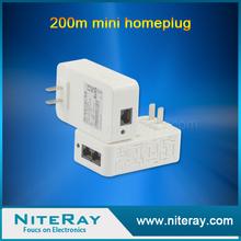 Home internet through power line networking powerline home plug