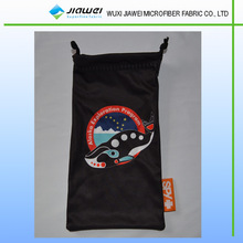microfiber eyeglasses bag/cell phone pouch made in China